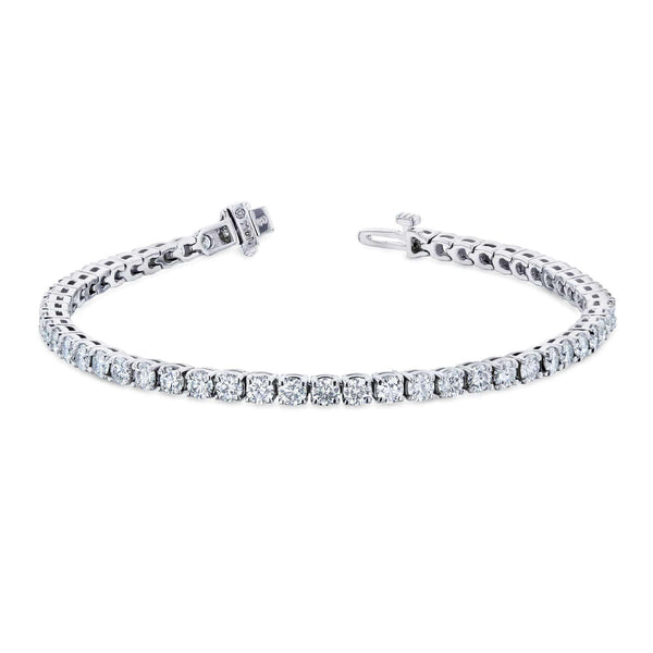 Kobelli Moissanite Tennis Bracelet 5 2/5ct TGW 10k White Gold MZ62646