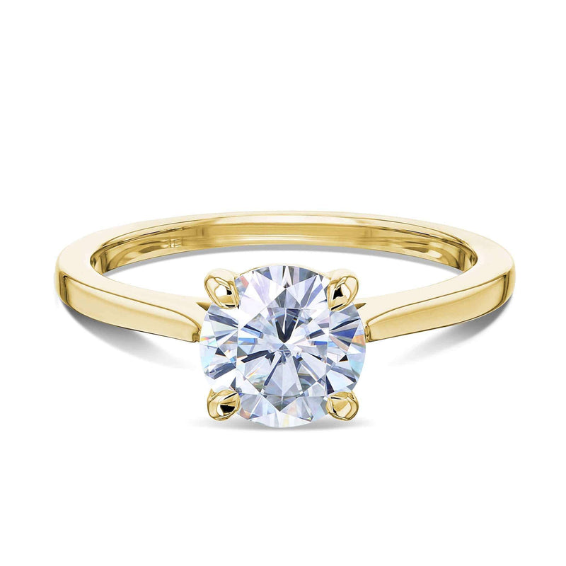 Kobelli 1ct Round Moissanite Solitaire Ring MZ62734R-1E/4Y