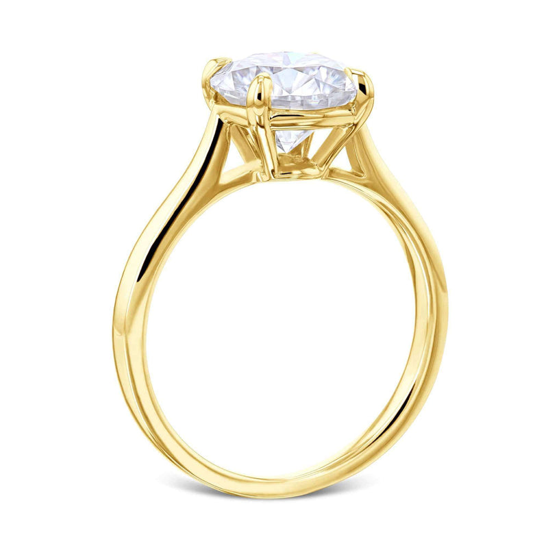 Kobelli 1.9ct Round Moissanite Solitaire Ring