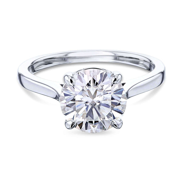 Kobelli 1.9ct Round Forever One Moissanite Solitaire Ring MZFO62735R-2E/4W