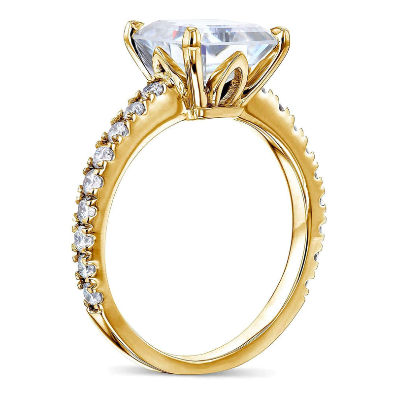 Kobelli 2.2ct Asscher Moissanite Ring