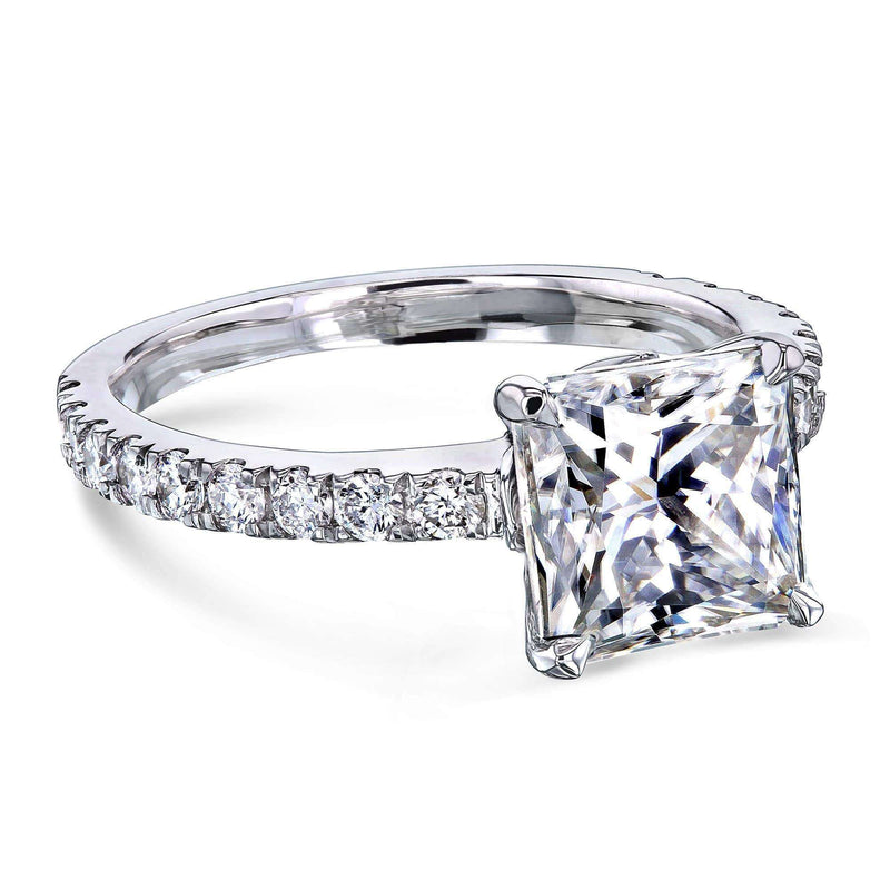 Kobelli 1.8ct Princess Moissanite Ring