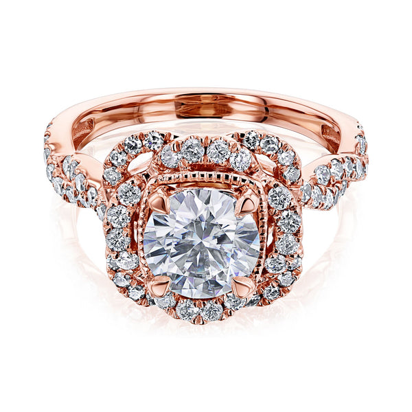 Kobelli Moissanite Engagement Ring