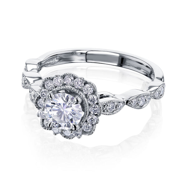 Kobelli Diamond Vintage Style Rings