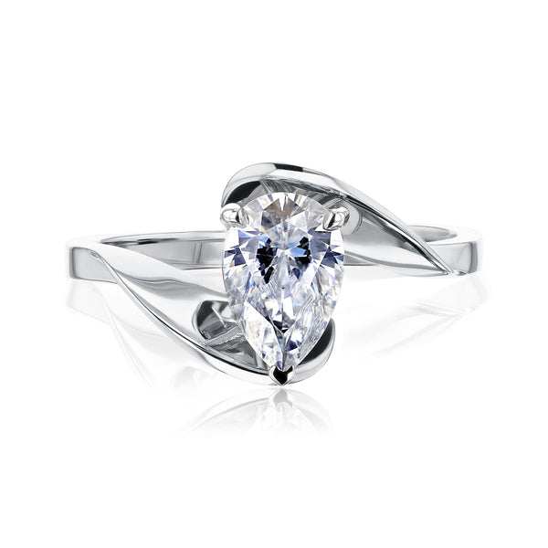 Kobelli Moissanite Solitaire Rings