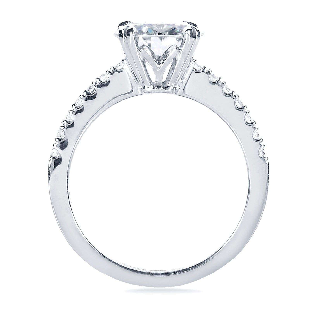 Engagement Rings Vs Wedding Bands: Forever One Moissanite And Lab Grown Diamond Engagement