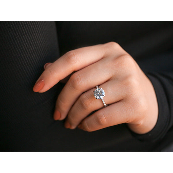 Kobelli 2.70 DEW Moissanite Wrap Basket Engagement Ring