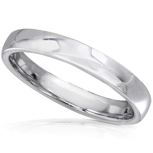Kobelli 14K White Gold Wedding Band (2.75mm)