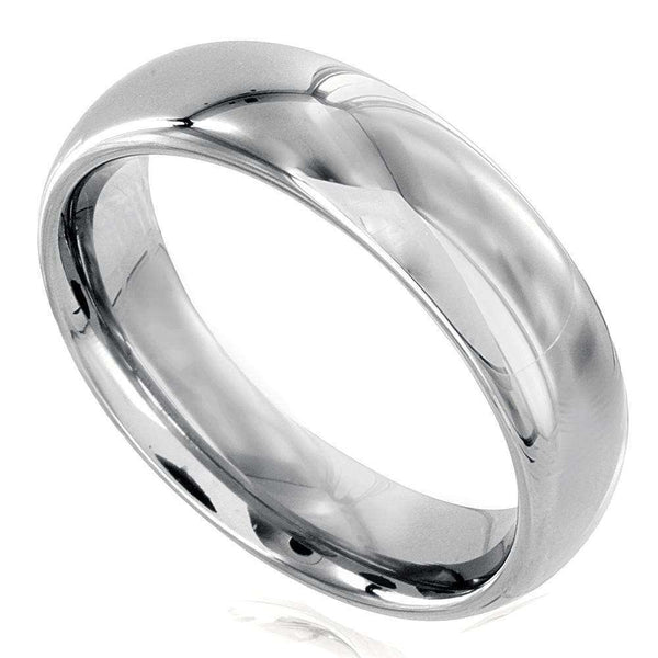 Kobelli Kobelli Men's Collection: Tungsten Carbide Wedding Band 6mm