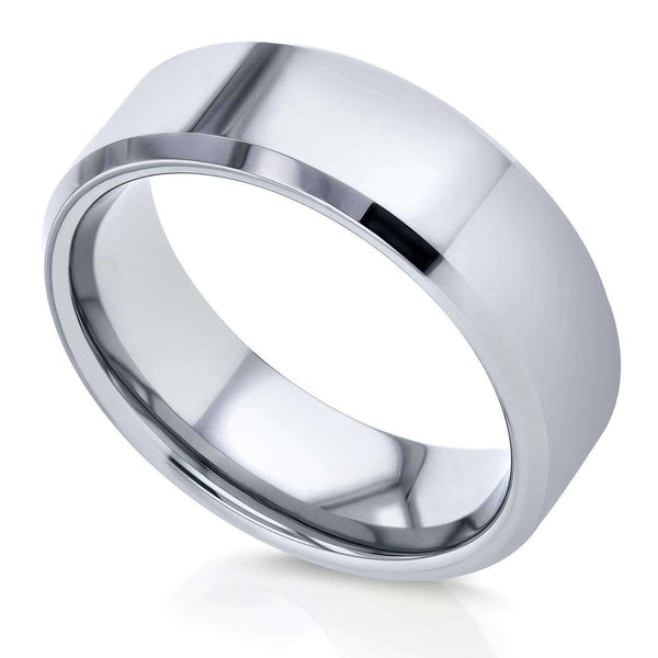 Kobelli Kobelli Men's Collection: Tungsten Carbide Wedding Band 8mm