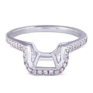 Kobelli Diamond Shadow Band 1/5 CTW in Platinum - 61770 Series