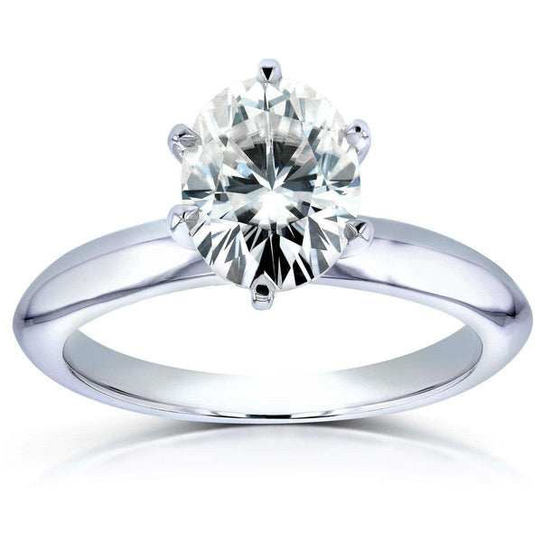 1-1/2ct Oval 6-Prong Solitaire