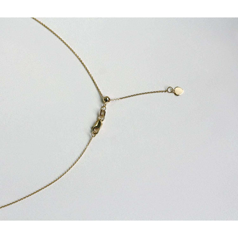 Kobelli 14k Gold Adjustable 18-Inch Chain
