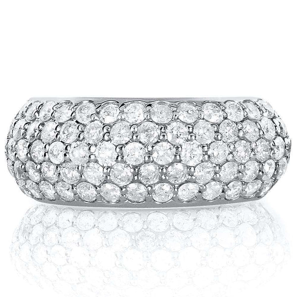 Kobelli Platinum Pave Diamond Ring (1 1/4 CTW)