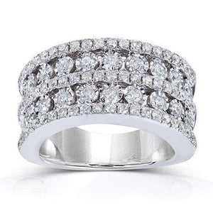 Diamond Band 1 1/2 Carat (ctw) in 10k White Gold