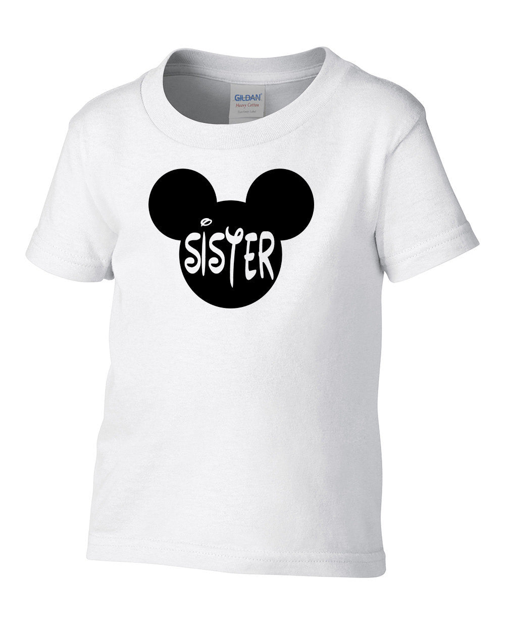 Mickey Sister Big Birthday Shirt Toddler T Newborn Baby Boy