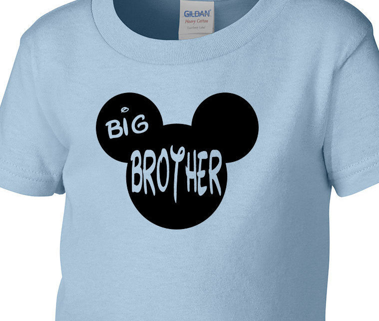 Mickey Brother Big Birthday Shirt Toddler T ShirtNewborn Baby Boy