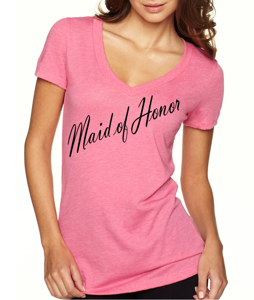 maid of honor shirt heather gray v neck shirts wifey bridal