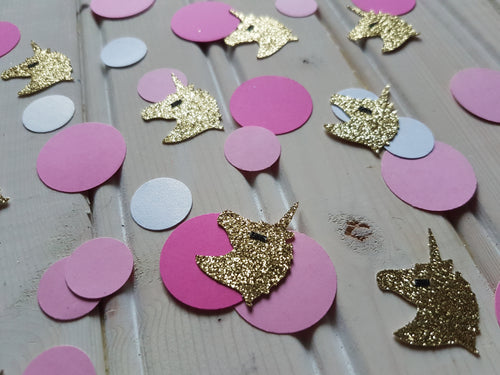 Unicorn Magic Party Decoration Confetti 50CT. Ships in 1-5 days. Unicorn Confetti