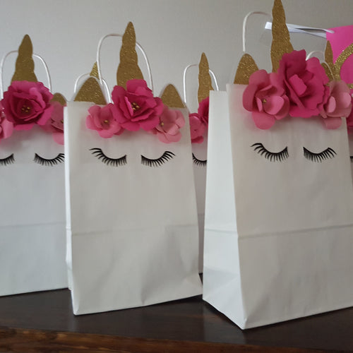 Unicorn Magic Party Bags 6CT. Ships in 1-5 days. Unicorn Loot Bags.
