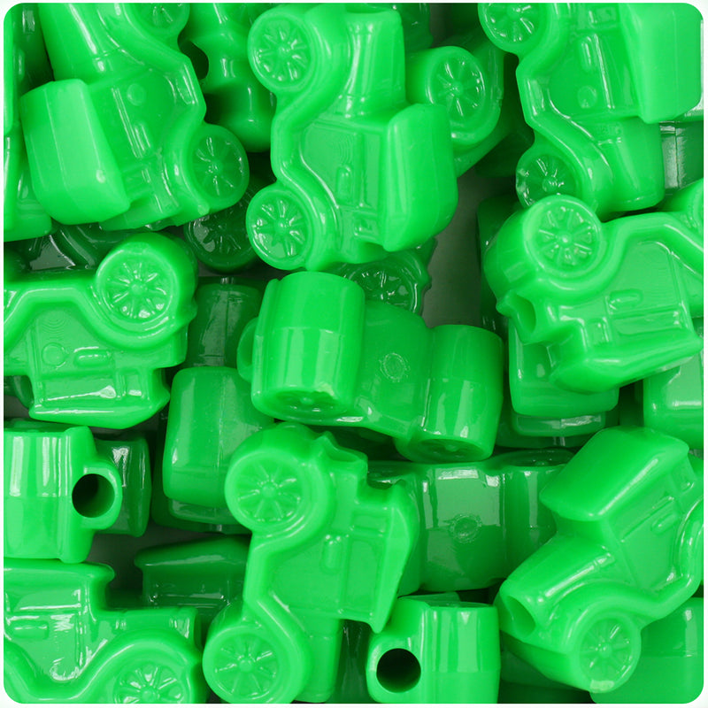 Grasshopper Neon Bright 25mm Car Pony Beads (24pcs)