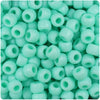 Sea Foam Matte 9mm Barrel Pony Beads (500pcs)