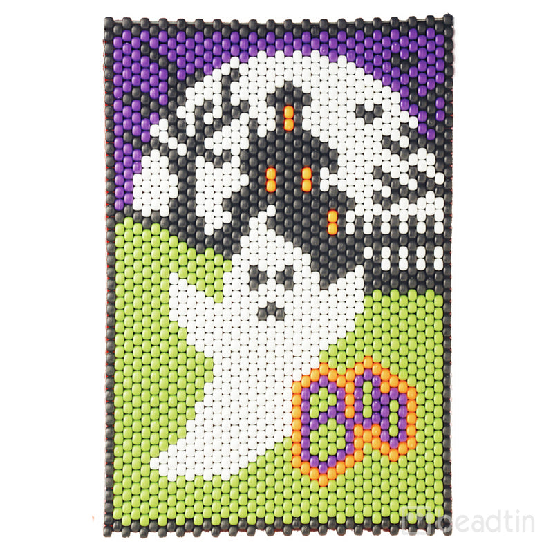 Boo Ghost Beaded Banner Kit