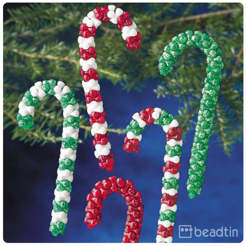 Candy Cane Assortment Ornament Kit