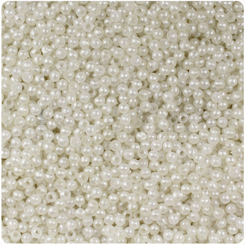 Bridal Pearl 3mm Round Craft Beads (26g)