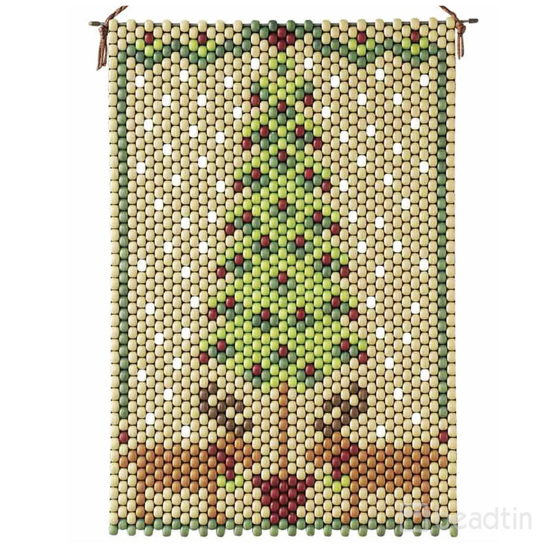 Homespun Holiday Beaded Banner Kit
