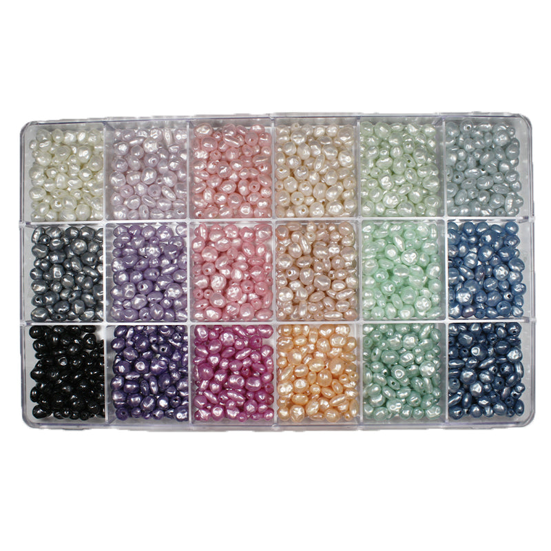 Giant Pastel Pearl Selections Bead Box