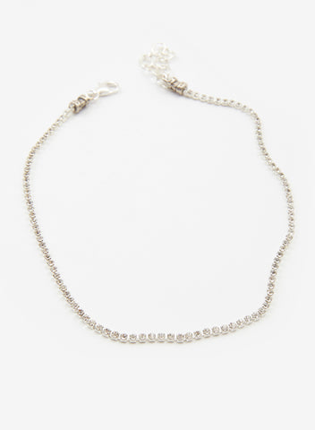 If You Had My Love Choker - Silver