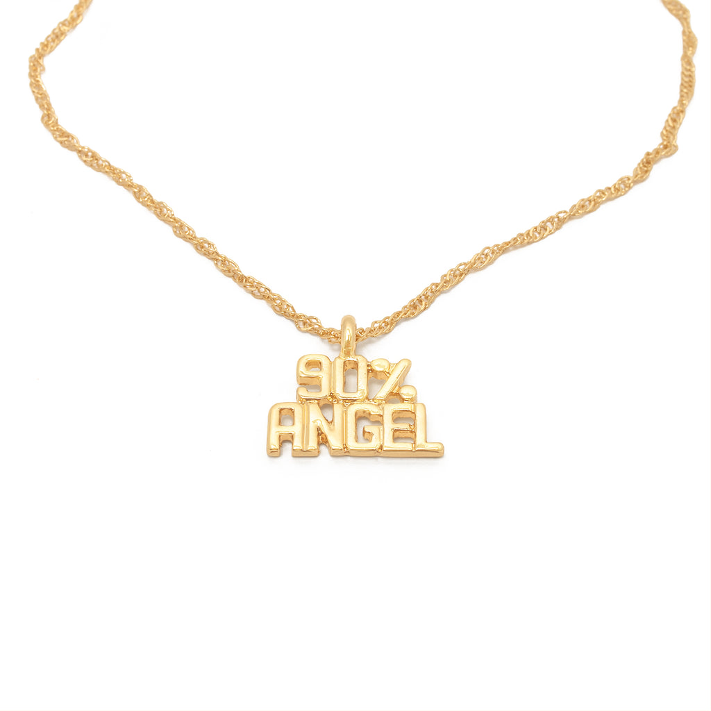 90% Angel Necklace