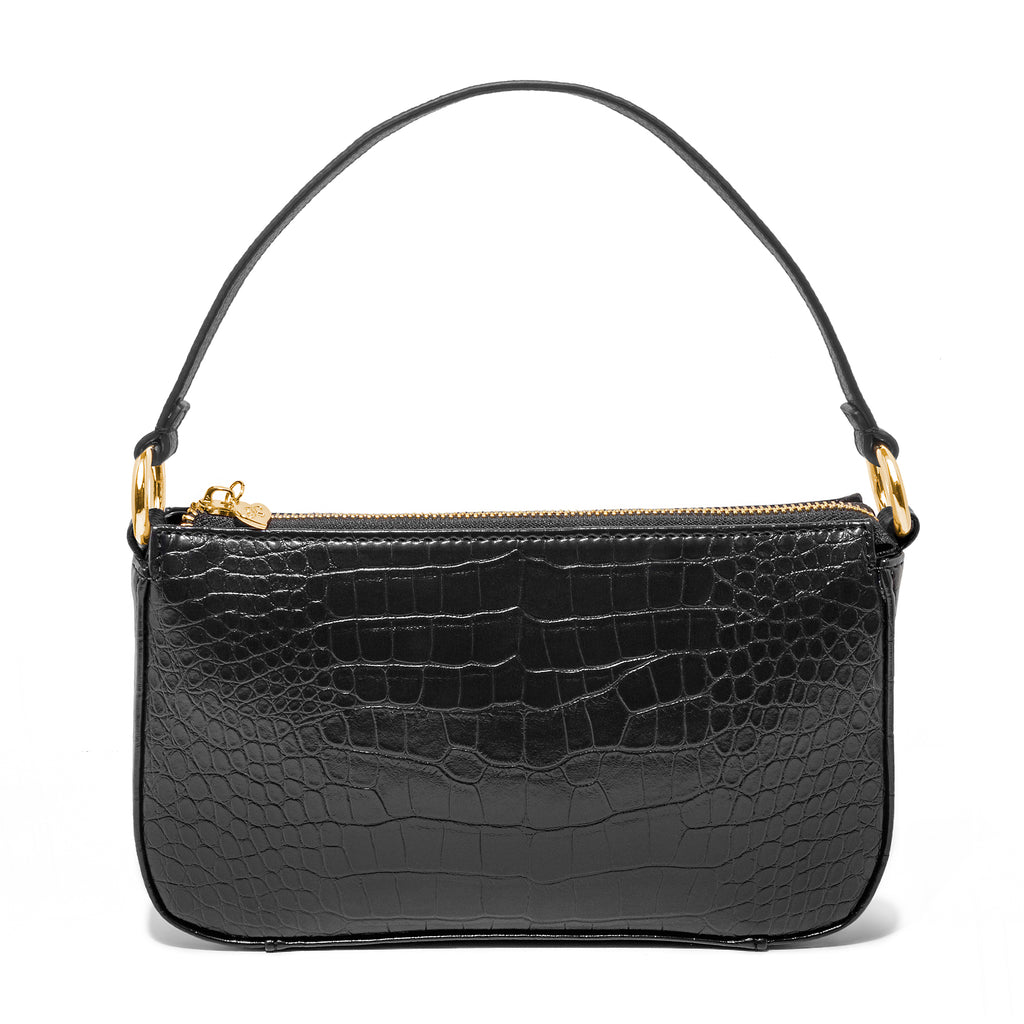 99% Angel Shoulder Bag in Black
