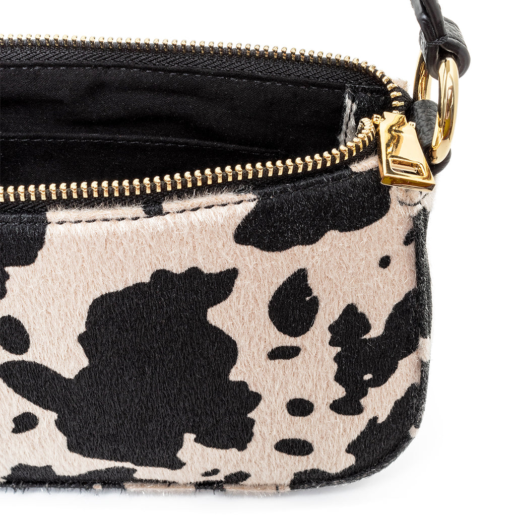 99% Angel Shoulder Bag in Cow Print