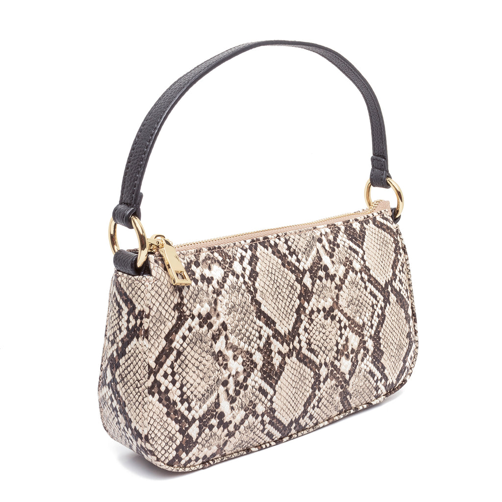 99% Angel Shoulder Bag in Snakeskin