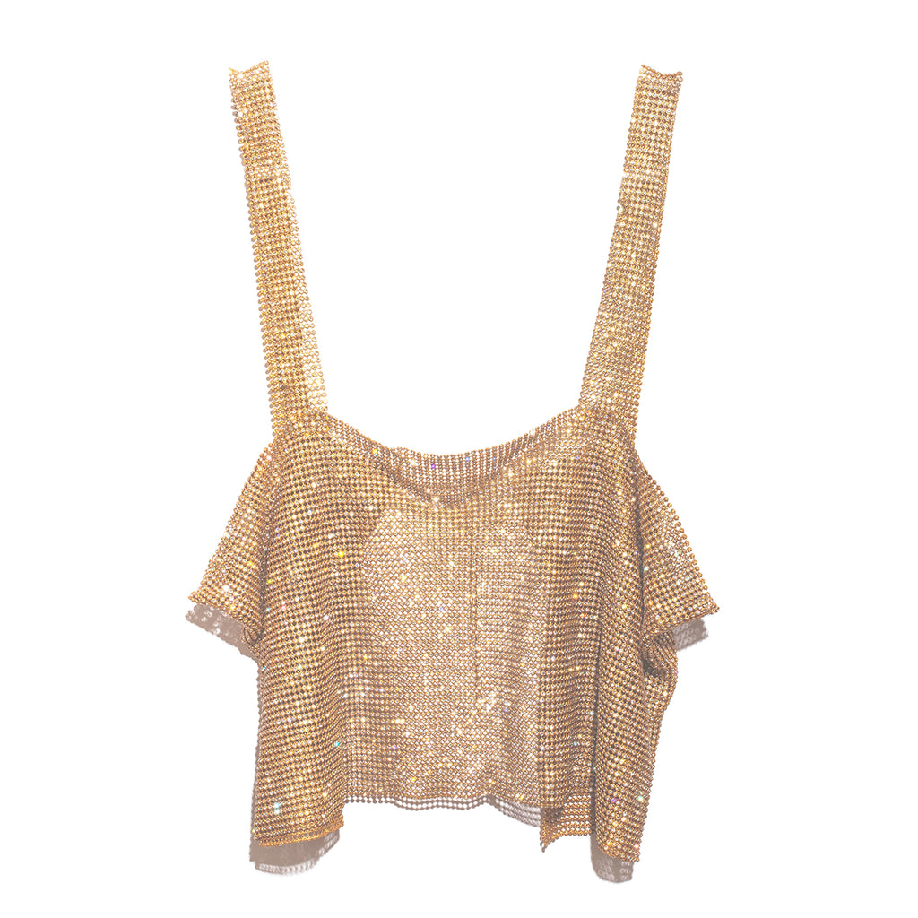 After Party Tank - Gold
