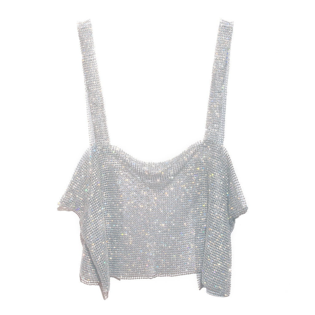 After Party Tank - Silver