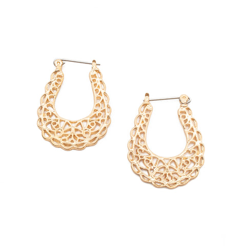 Bella Hoop Earrings