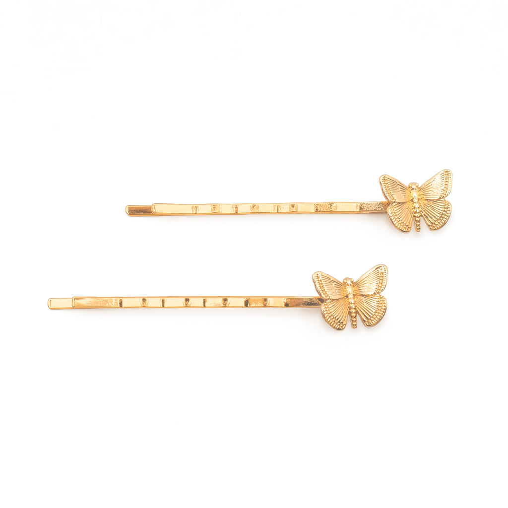 Butterfly Queen Bobby Pins