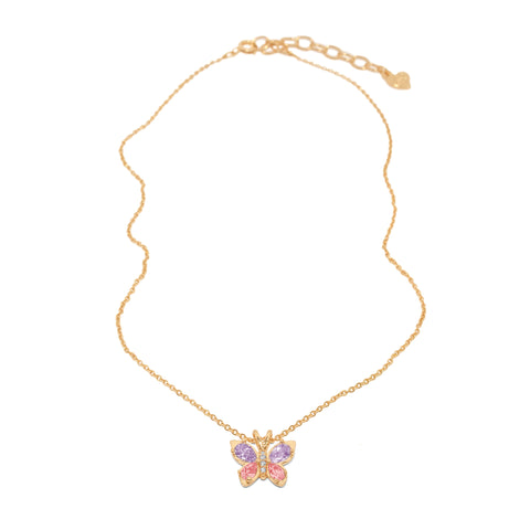 Butterfly Crush Necklace