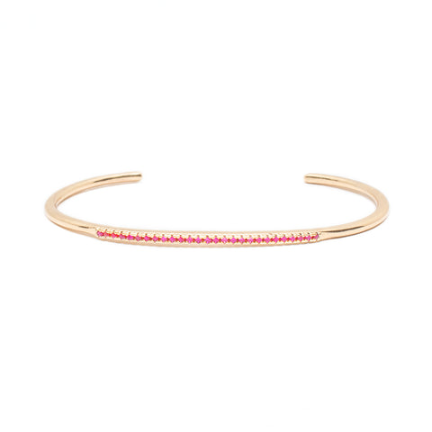 Cute AF Cuff in Rose