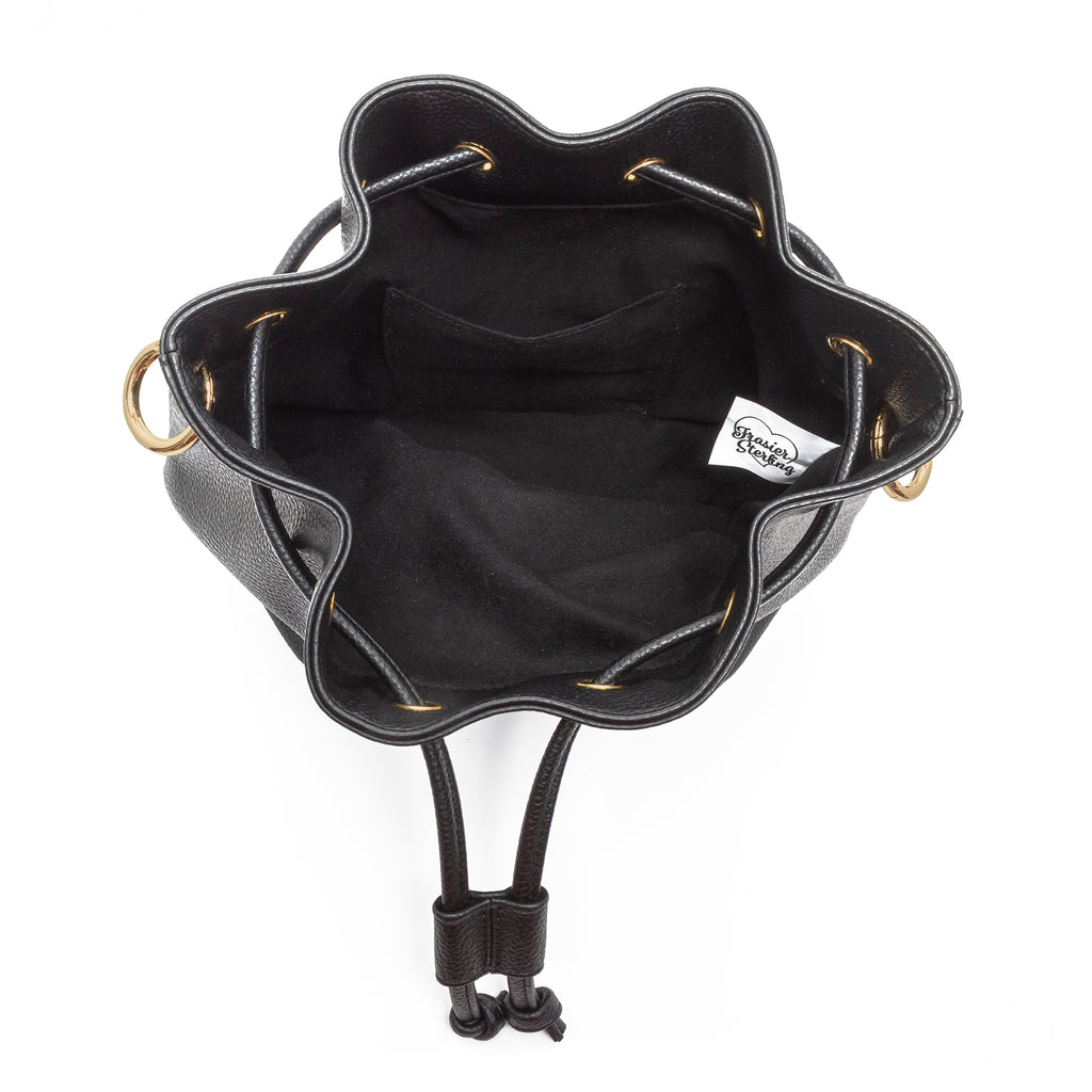 Daydreamer Bucket Bag with Cow Print Strap