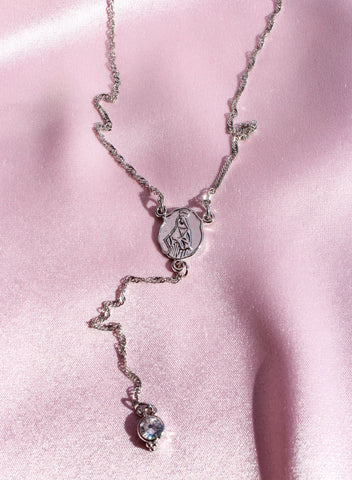 Dearest Rosary in Silver