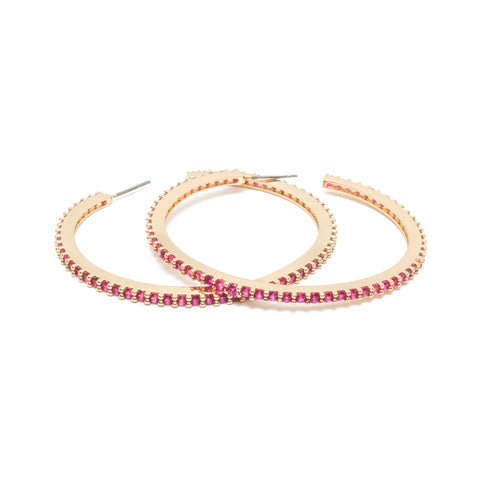 Endless Love Hoops in Rose