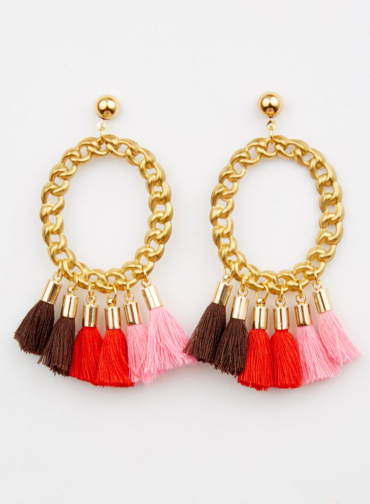 Salsa Earrings - Pink