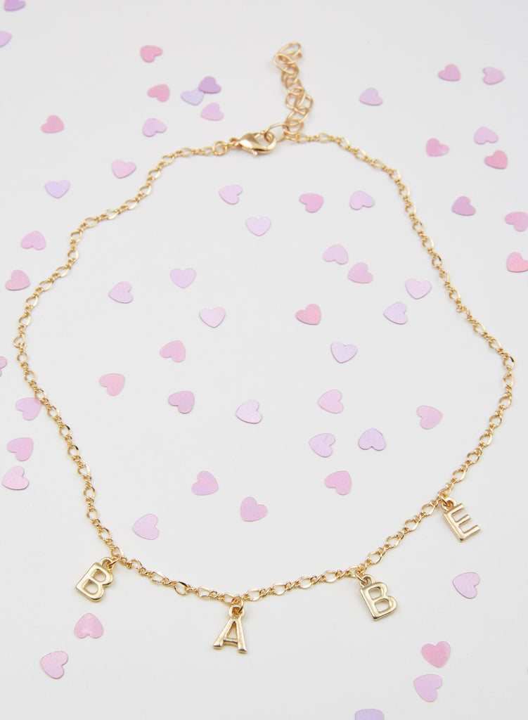 Star Crossed Lovers Necklace - Babe