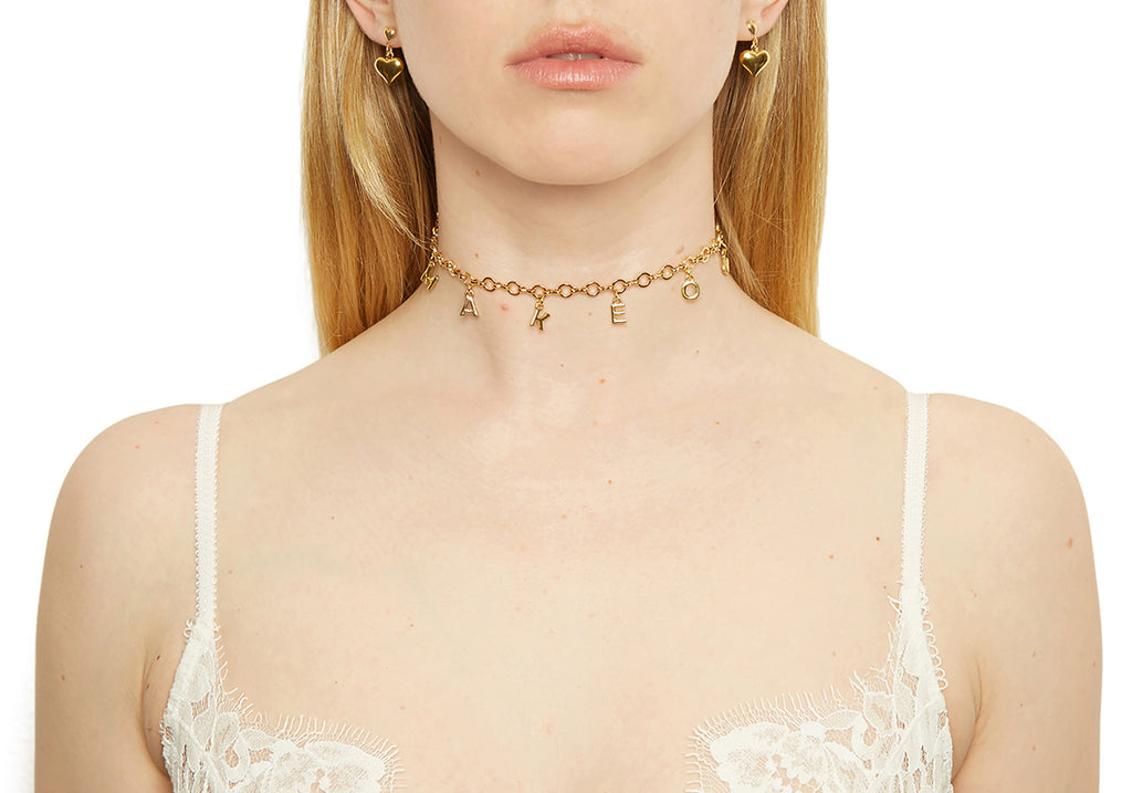 Star Crossed Lovers Choker - Makeout