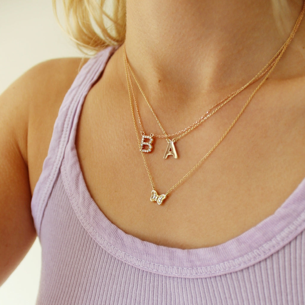 Real Deal Custom Initial Necklace