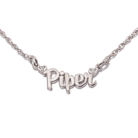Made for Me Custom Diamond Nameplate Necklace